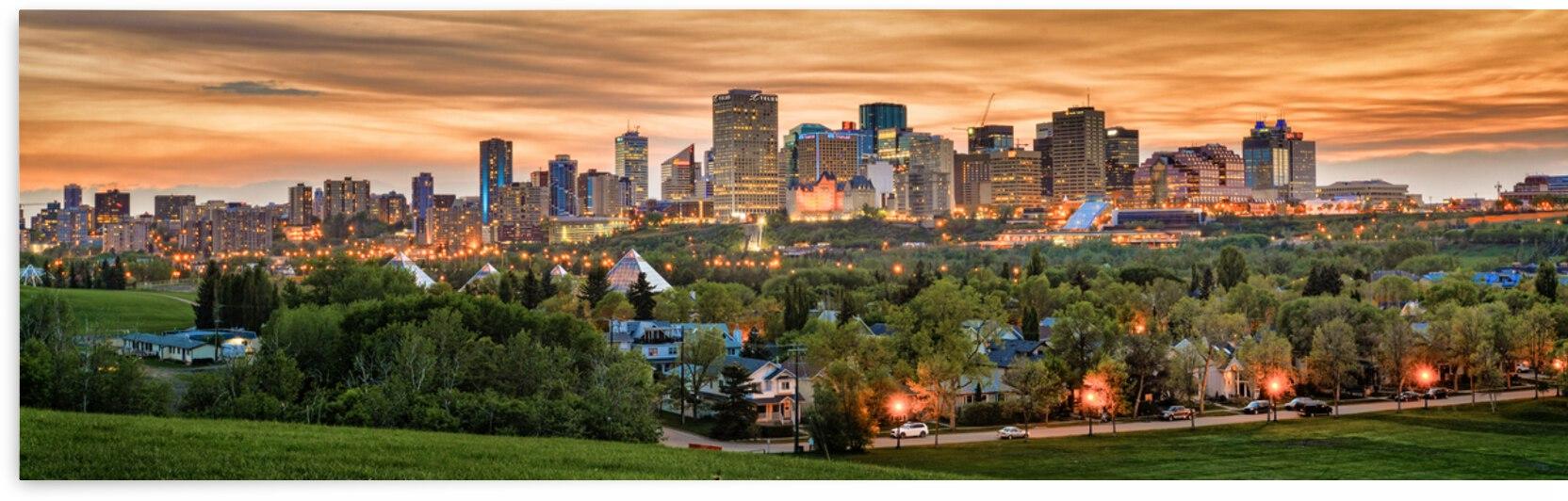 Edmonton Skyline by Fischer Photography