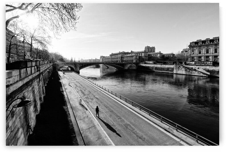 Alone in Paris by Hassan Bensliman