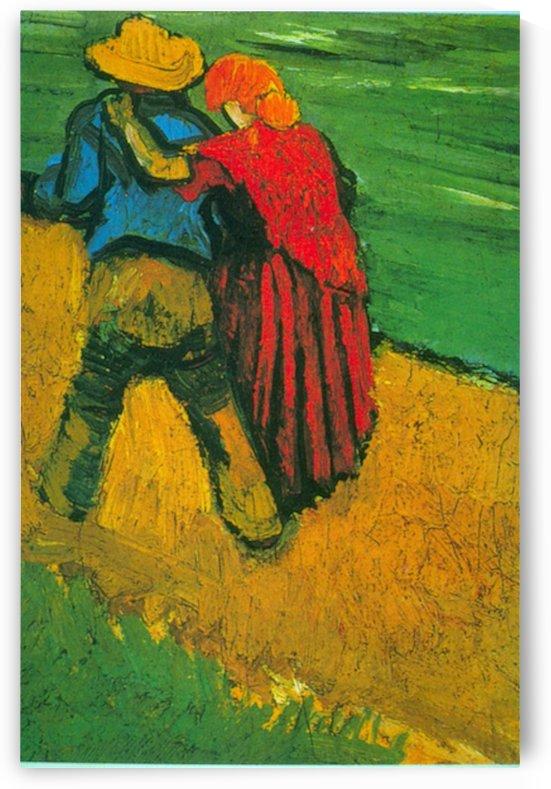 Two Lovers by Van Gogh by Van Gogh