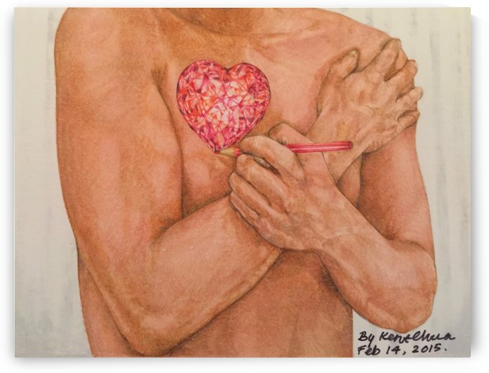 Embrace Love by Kent Chua