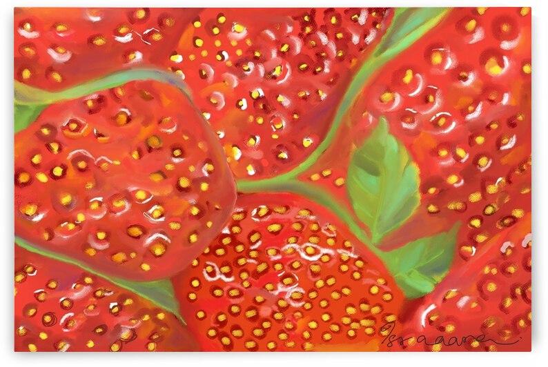 Strawberries by Isra Aara Ibrahim Shafeeu