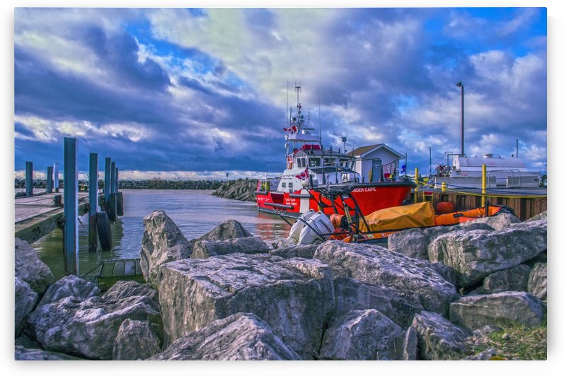 Canadian coastguard. by Tracy Bennett