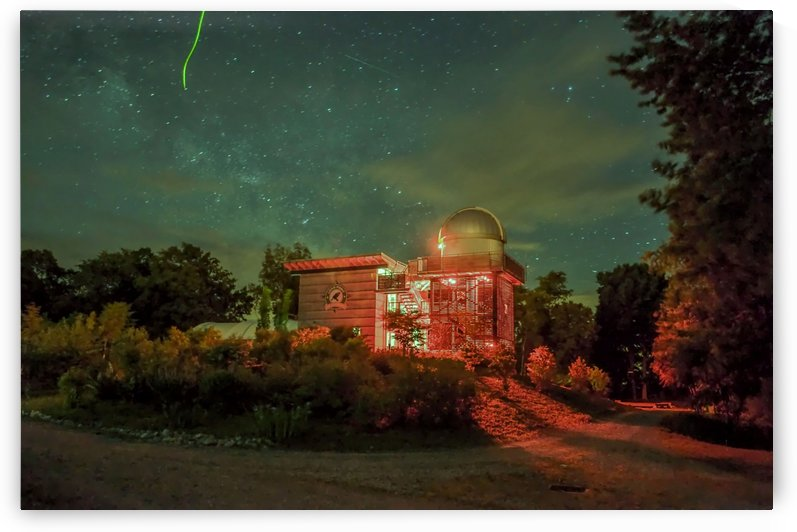 Long point Observatory. by Tracy Bennett