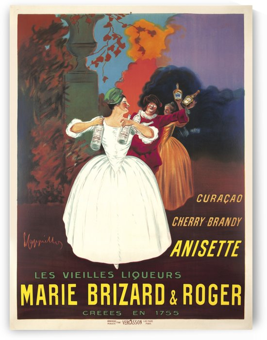 Marie Brizard and Roger by Leonetto Cappiello, 1912 by VINTAGE POSTER