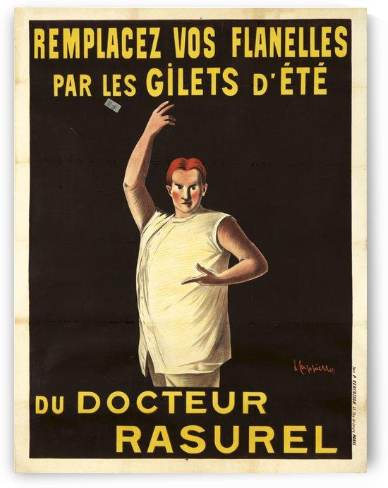 Docteur Rasurel, by Leonetto Cappiello, 1906 by VINTAGE POSTER