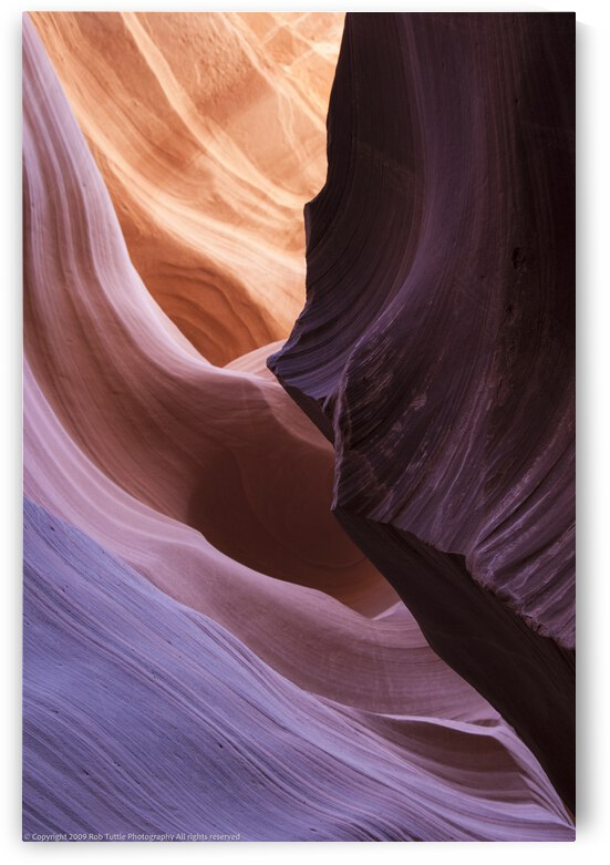 Slot Canyon 3 by Robert Tuttle