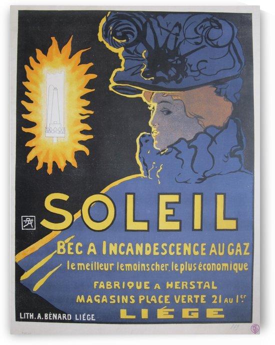 Soleil, bec a incandescence au gaz by VINTAGE POSTER