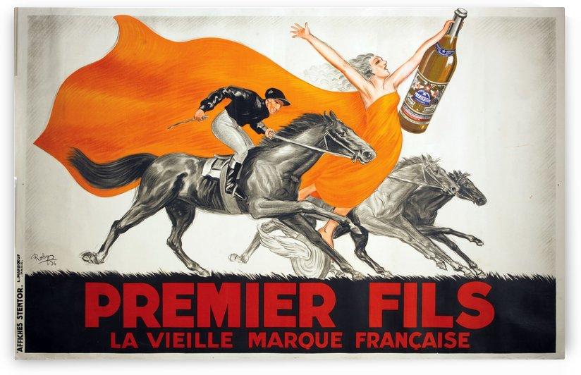 Premier Fils, Beverage Poster by VINTAGE POSTER