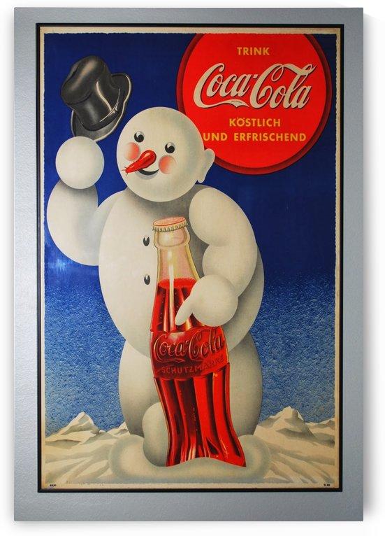 Coca Cola retro poster by VINTAGE POSTER
