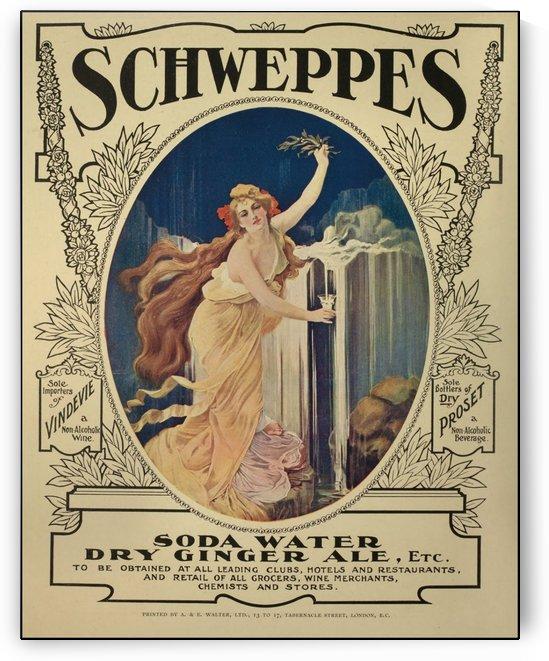 Schweppes Vintage Poster 1908 by VINTAGE POSTER