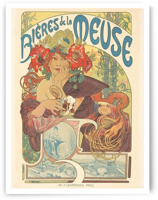 Bieres de La Meuse by VINTAGE POSTER