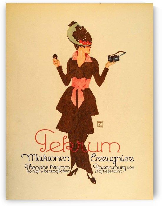 Tekrum makronen by VINTAGE POSTER