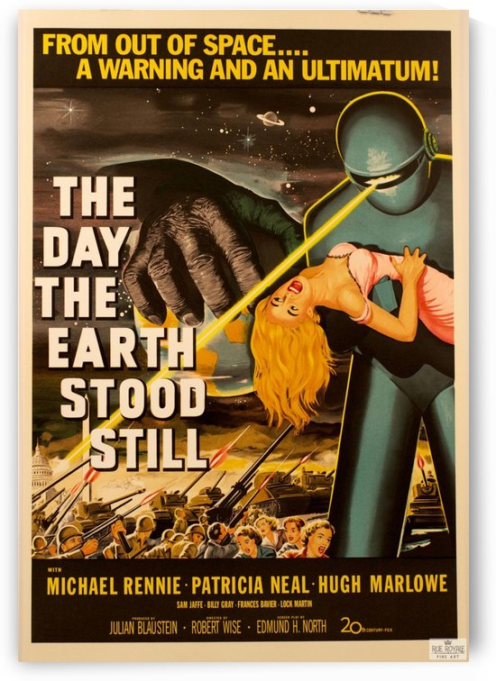 The day the Earth stood still by VINTAGE POSTER
