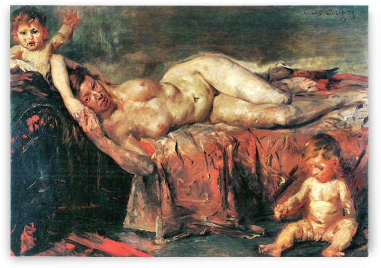 The nudity by Lovis Corinth by Lovis Corinth