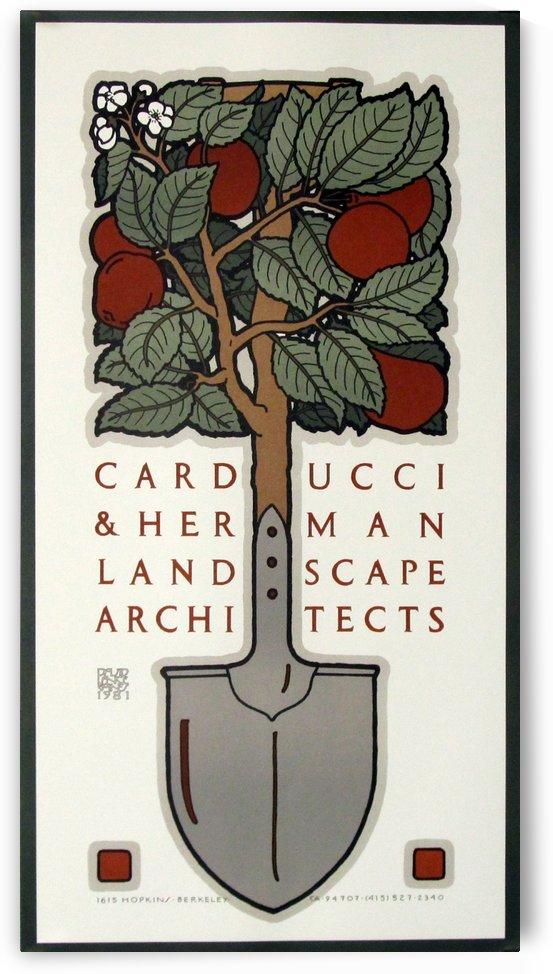 Carducci and Herman Original Poster David Lance Goines Vintage Poster by VINTAGE POSTER