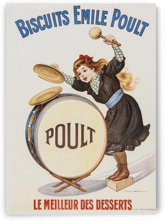 Biscuits Emile Poult, le meilleur des Desserts by VINTAGE POSTER