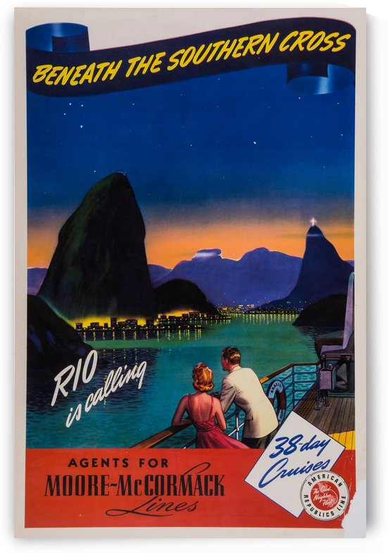 Rio is calling original poster by VINTAGE POSTER