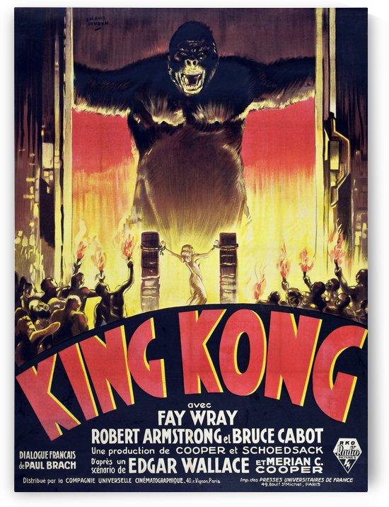 King Kong Vintage Poster by VINTAGE POSTER