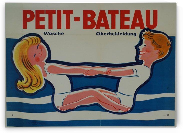 Petit-Bateau Vintage Poster by VINTAGE POSTER