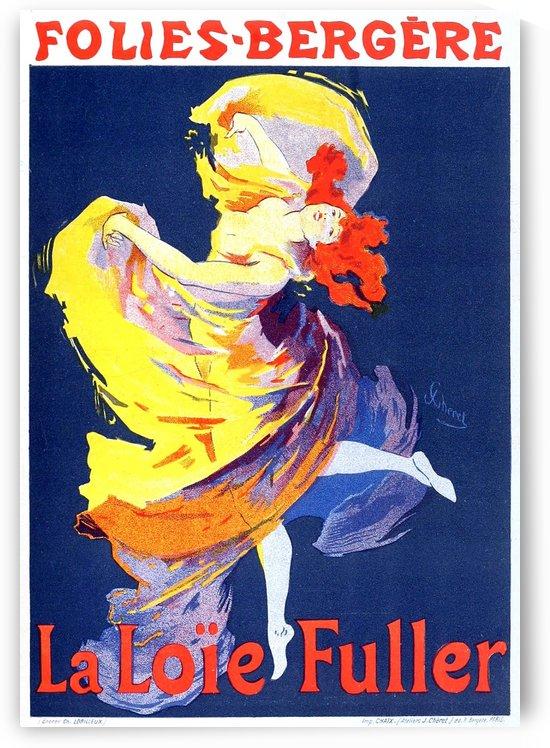Folies Bregere La Loie Fuller by VINTAGE POSTER