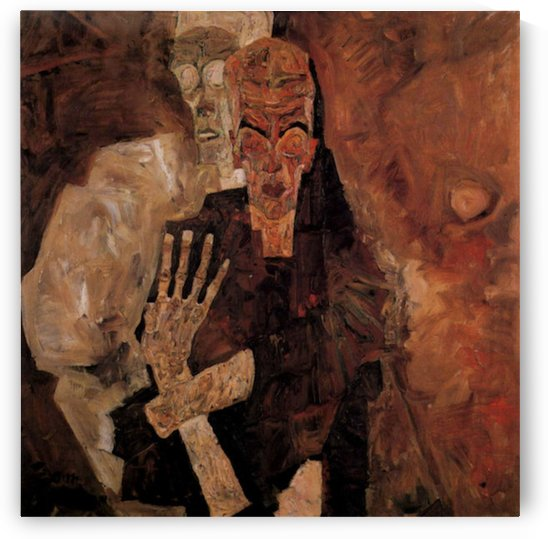 Unlicensed or even death, and man by Schiele by Schiele