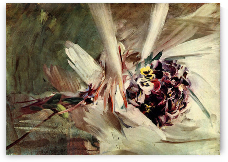 The Pansy by Giovanni Boldini by Giovanni Boldini