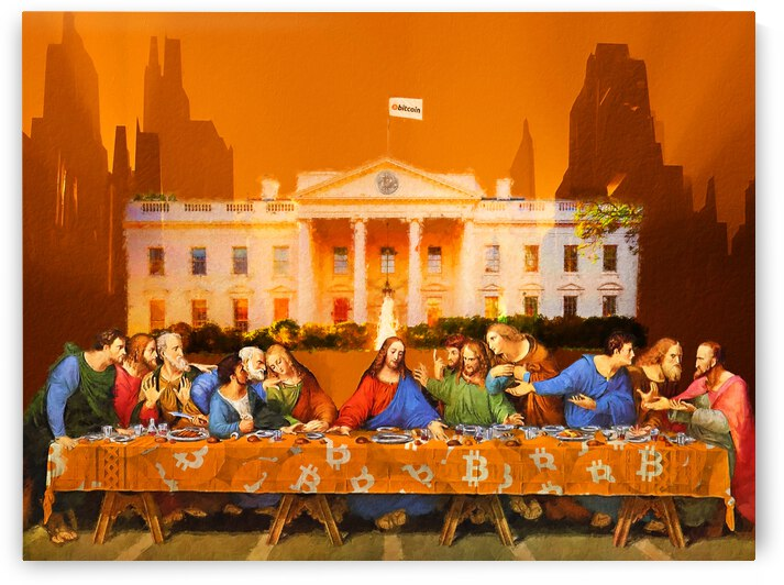 the last supper 5 by Abdullah Ahmad