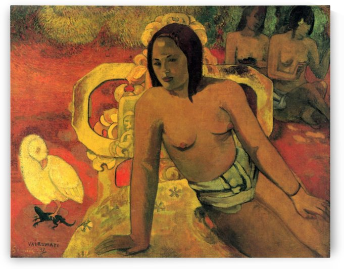 Vairumati by Gauguin by Gauguin