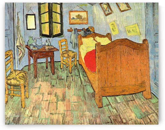 Van Gogh s Bedroom by Van Gogh by Van Gogh