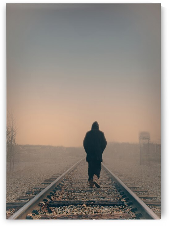 Back Walking Away by Bob Orsillo