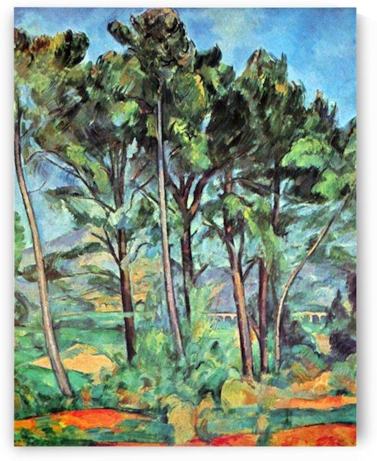 Viaduct by Cezanne by Cezanne