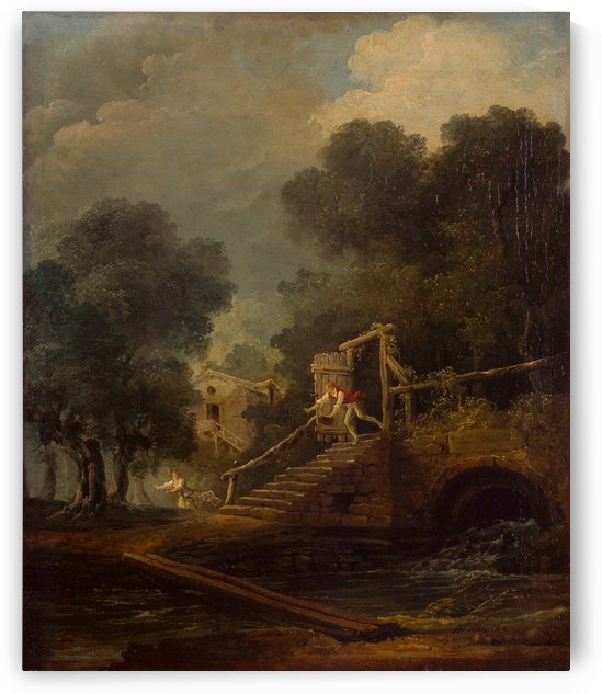 Flight by Hubert Robert