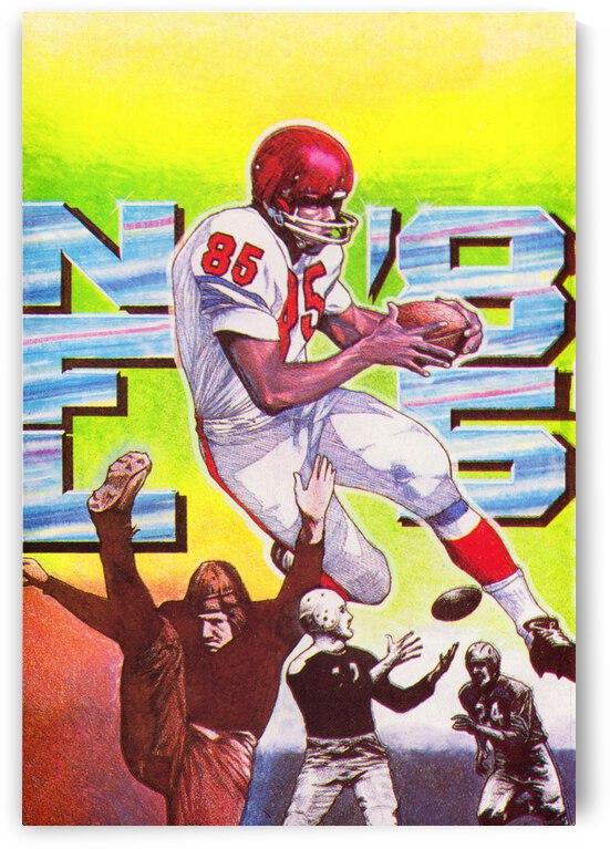 1985 NFL Football Art by Row One Brand