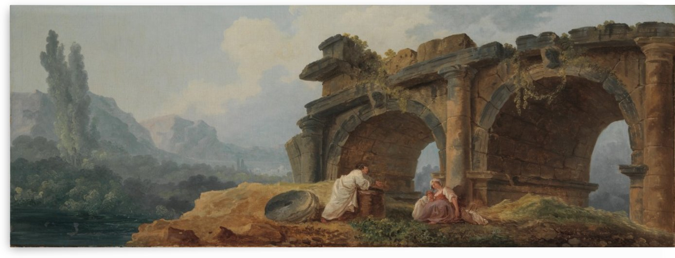Arches in Ruins by Hubert Robert
