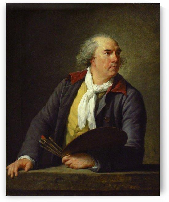 Portrait of Hubert Robert, 1788 by Hubert Robert