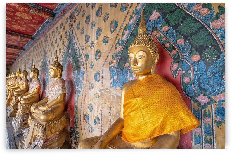GOLDEN BUDDHA STATUE by Bernd Hartner
