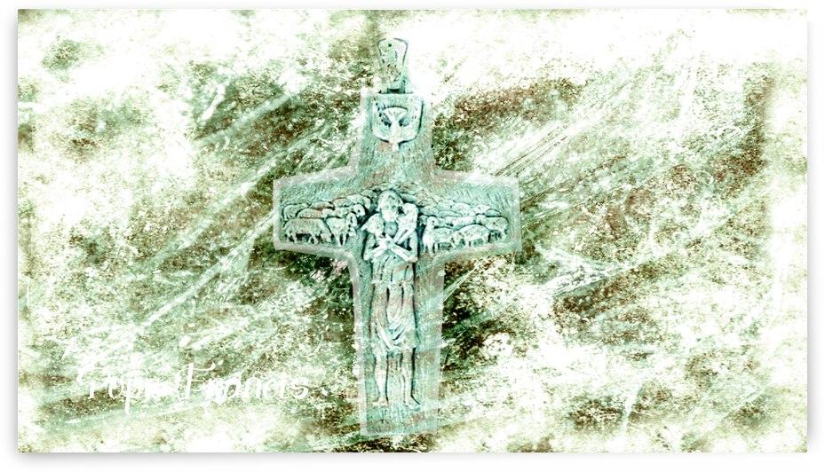 Pope Francis cross by Sandorati