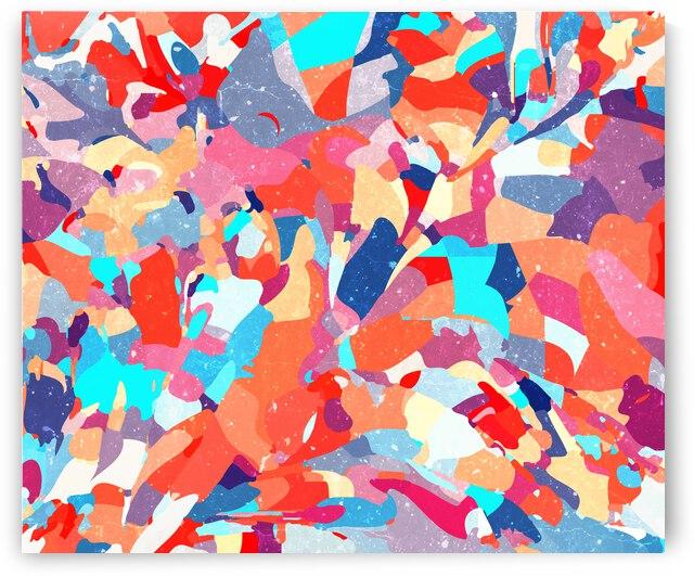 Mosaic Floor by 83 Oranges