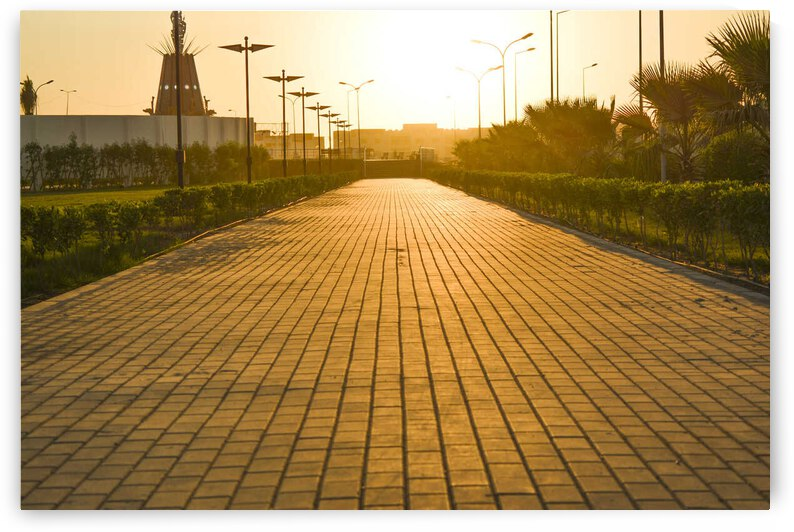Warm sun by Al Kadhimi