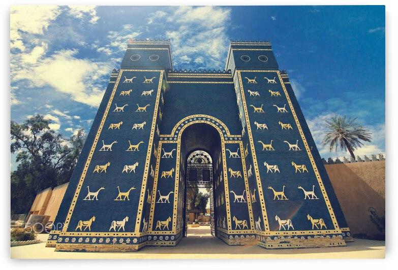 Ishtar Gate of Babylon Civilization by Al Kadhimi