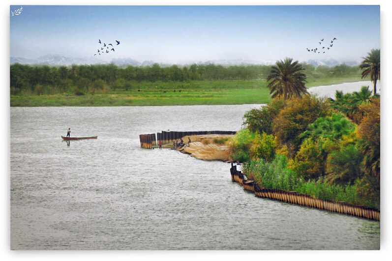 river of hope  2  by Al Kadhimi