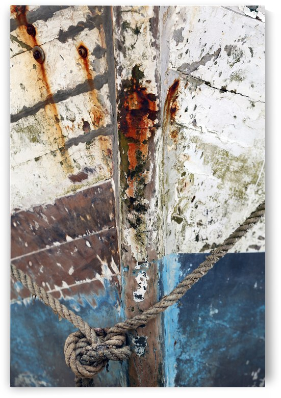 Detail of fishing boat. Brazil 01 by fabiomsalles