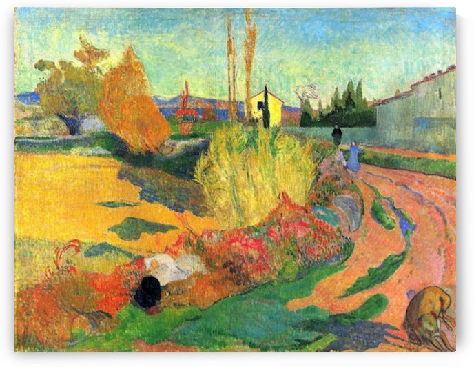 Von Arles by Gauguin by Gauguin