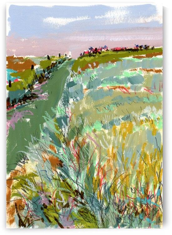 Prairie Sketch by JLMohr Art