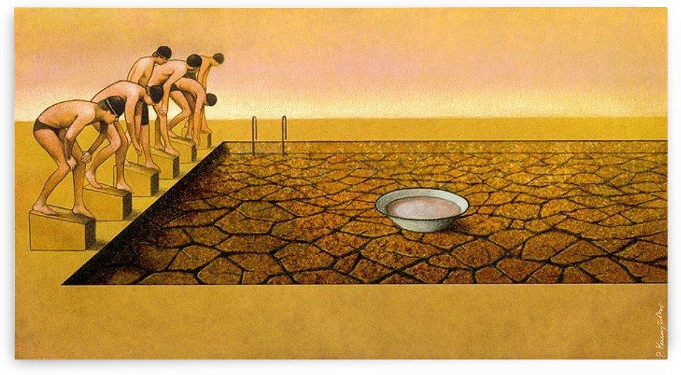 Pool by Pawel Kuczynski