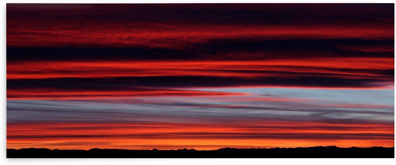 Rocky Mountain Sunset by Jody Majko