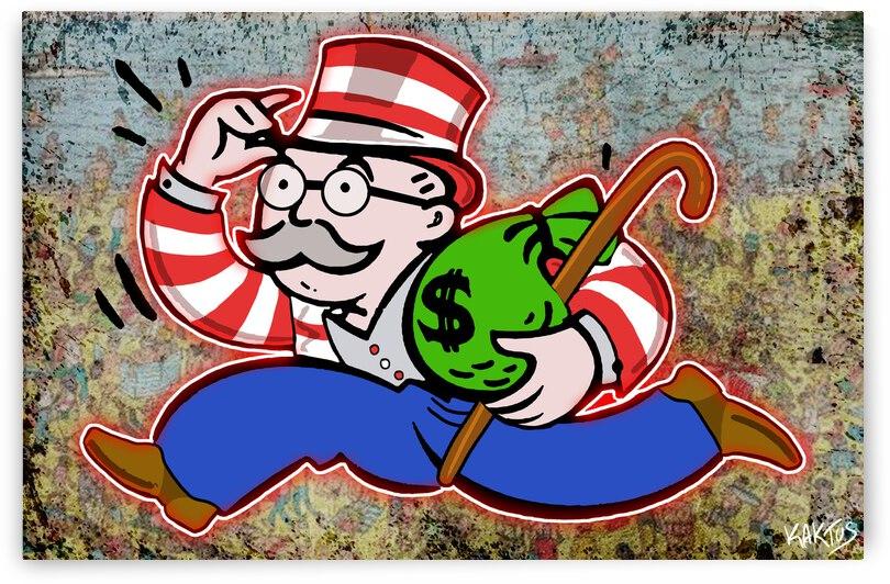 Mr Monopoly Charli by Kaktus Art