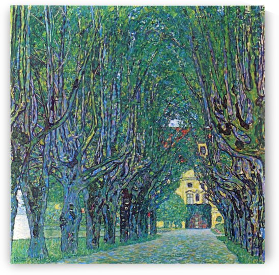 Way to the Park by Klimt by Klimt