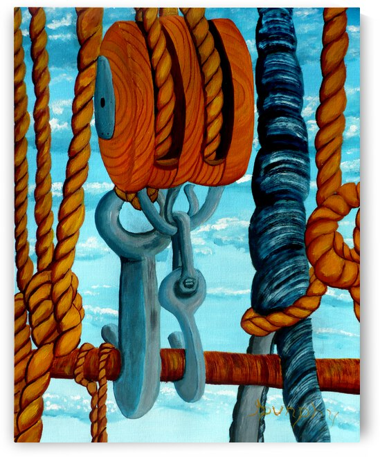 Block and Tackle by Anthony J Dunphy