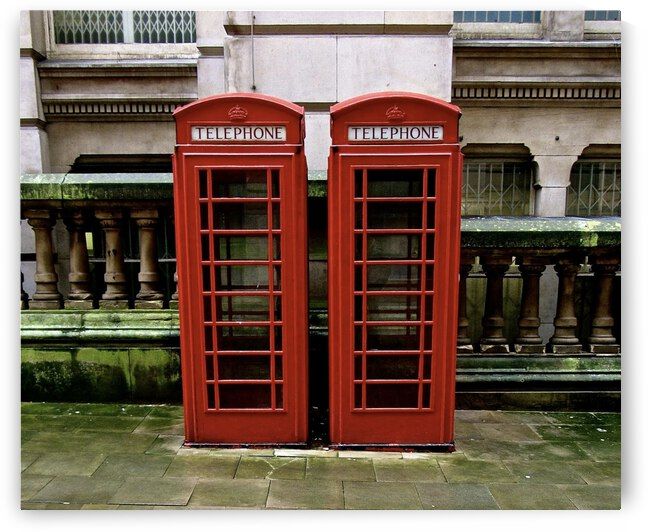English Telephone Booths by J Gilbert Photography